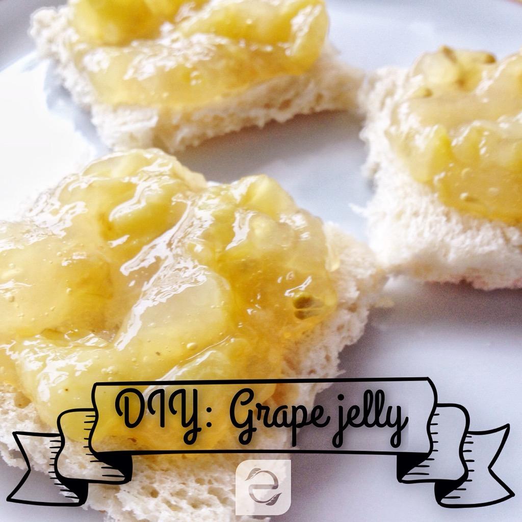 Recipe: Easy Grape Jelly | ecogreenlove