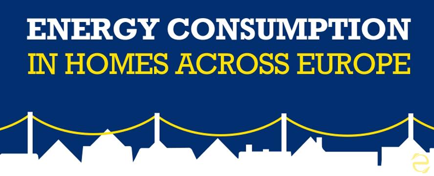Energy Consumption in Homes across Europe [Infographic] | ecogreenlove