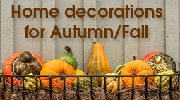 DIY: Home decorations for Autumn/Fall | ecogreenlove
