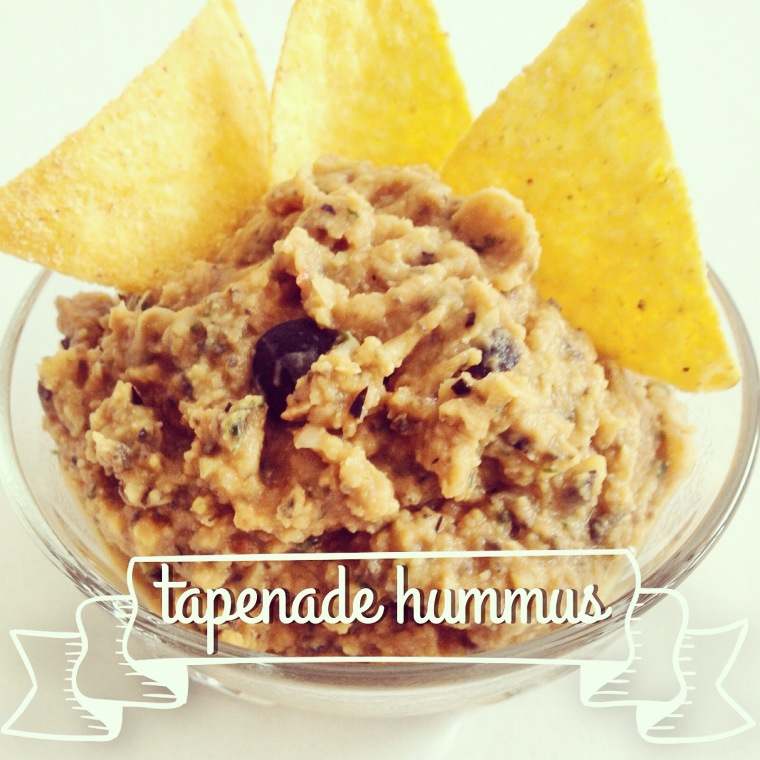 Recipe: Tapenade Hummus | ecogreenlove