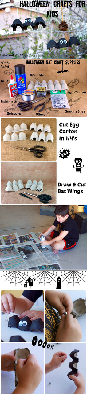 DIY: Halloween Decorations / Crafts | ecogreenlove