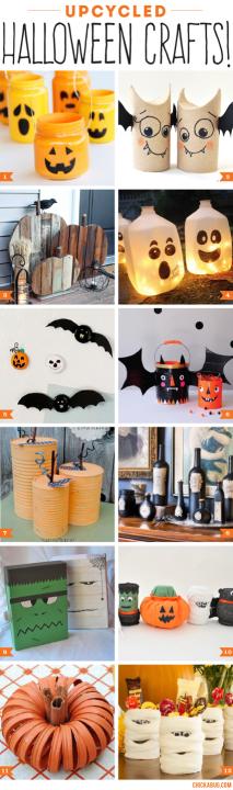 DIY: Halloween Decorations / Crafts | ecogreenlove