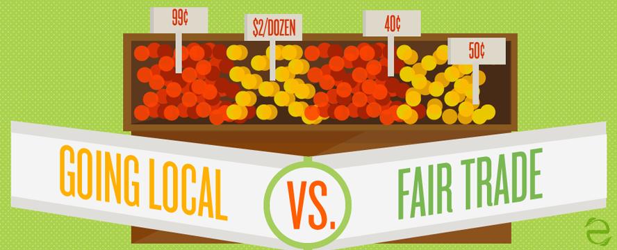 Buying Local vs. Fair Trade [Infographic]   ecogreenlove