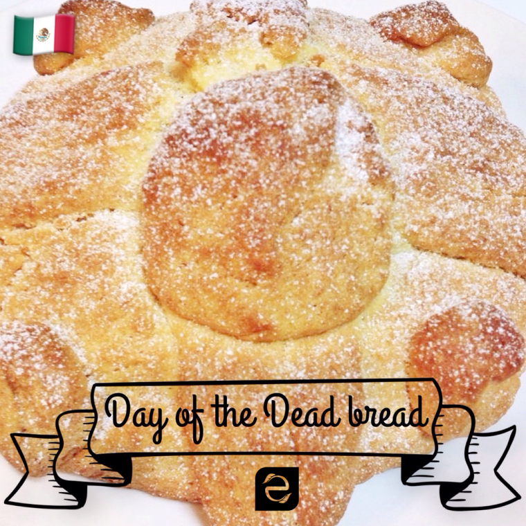 Recipe: Homemade Mexican Day of the Dead bread / Receta: Pan de Muerto casero | ecogreenlove