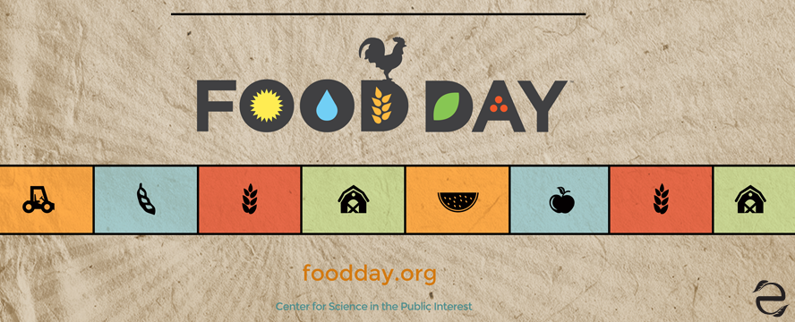 Environmental Dates: Food Day | ecogreenlove