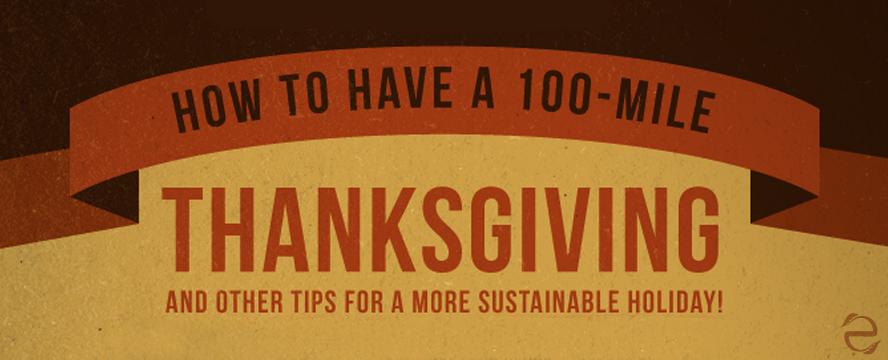 Sustainable Thanksgiving [Infographic] | ecogreenlove