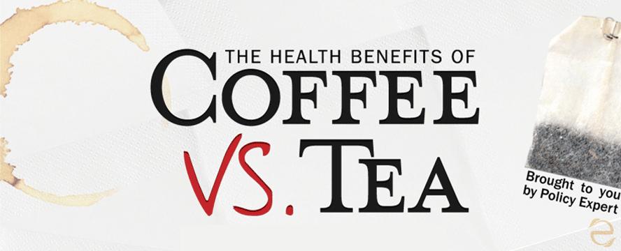 Health Benefits: Coffee vs. Tea [Infographic] | ecogreenlove