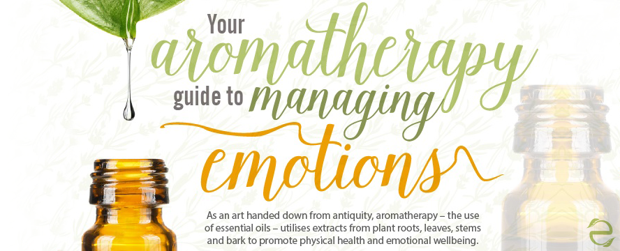 Aromatherapy Guide to managing Emotions [Infographic] | ecogreenlove
