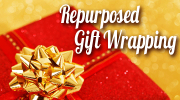 Green Christmas roundup [Repurposed Gift Wrapping] | ecogreenlove