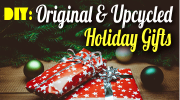 Green Christmas roundup [DIY: Original & upcycled Holiday Gifts] | ecogreenlove