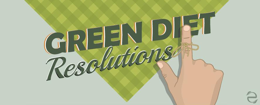Green Diet Resolutions [Infographic]   ecogreenlove
