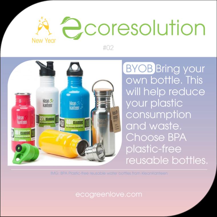 Eco resolutions (BYOB) | ecogreenlove