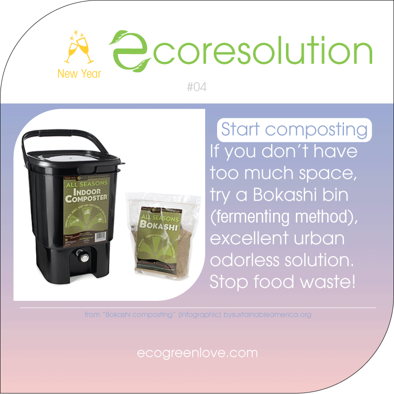 Eco resolutions (compost) | ecogreenlove