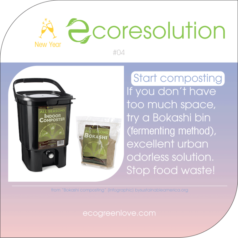 Eco resolutions (compost) | ecogreenlove