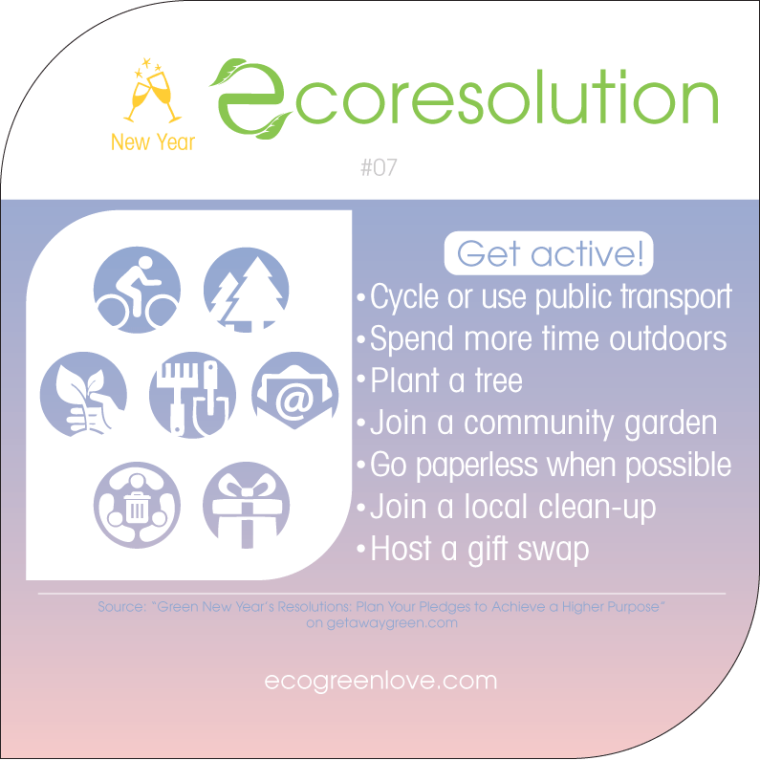 Eco resolutions (get active) | ecogreenlove