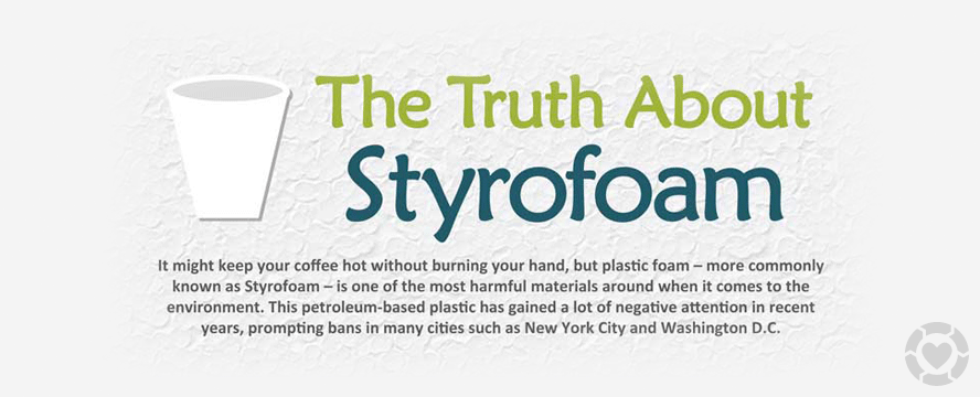 The Truth about Styrofoam [Infographic] | ecogreenlove