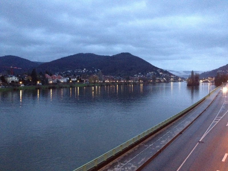 Quiet public holiday walk in Heidelberg | ecogreenlove