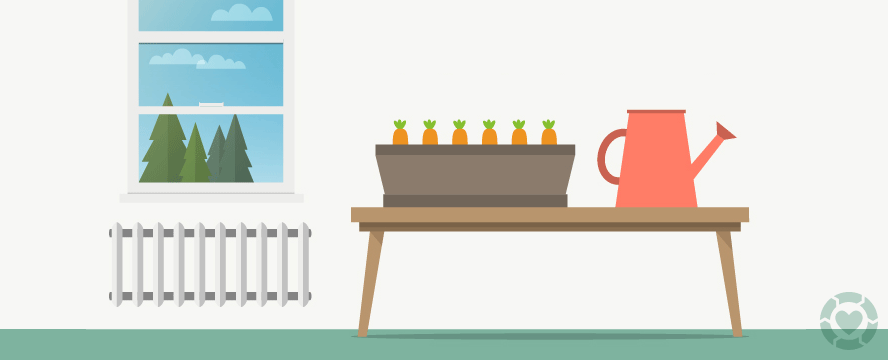 Edible Plants to Grow Indoors [Infographic] | ecogreenlove