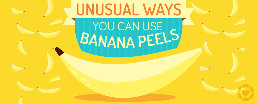 Unusual ways you can use Banana Peels [Infographic] | ecogreenlove