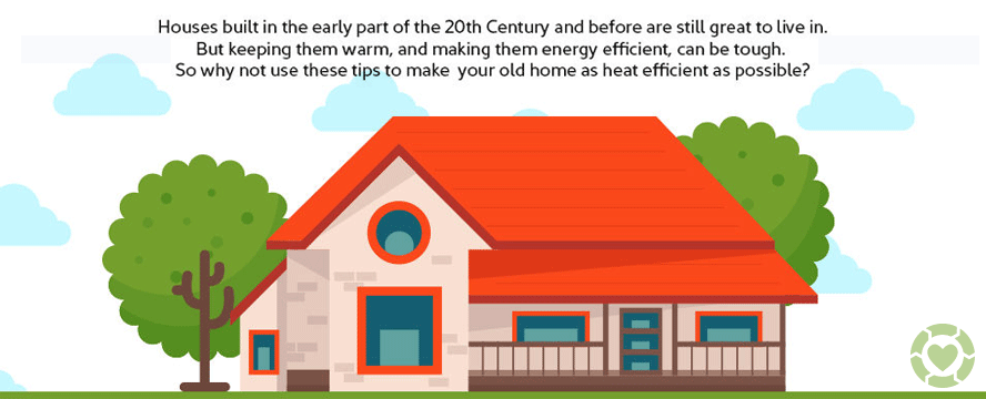 Modern Technology to Warm an Old Home [Infographic] | ecogreenlove
