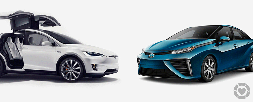 Electric vs Hydrogen: The battle to fuel the future of cars [Infographic] | ecogreenlove