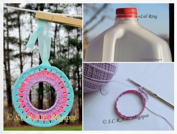 Repurpose plastic bottle Rings | ecogreenlove