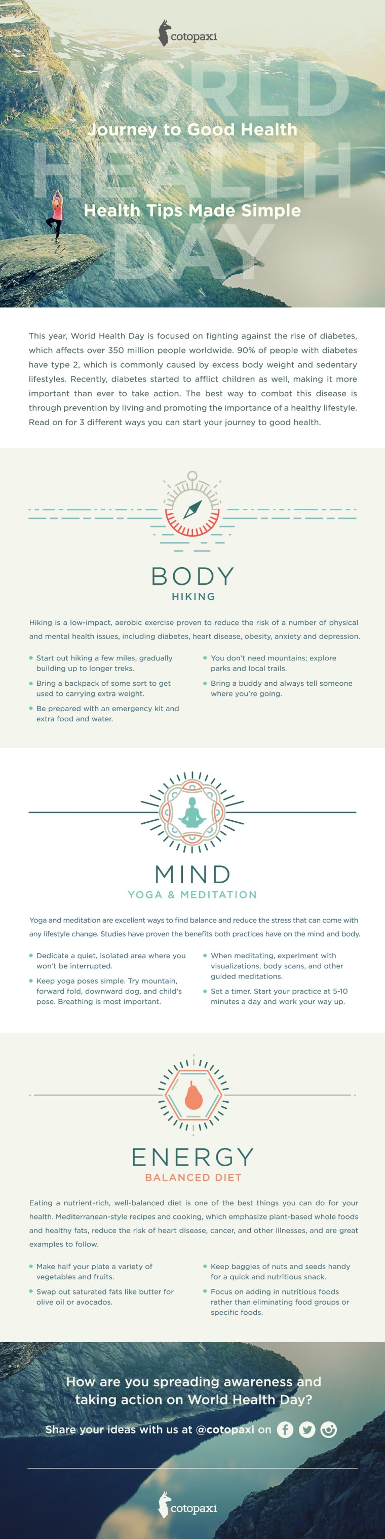 Health Hacks [Infographic] | ecogreenlove