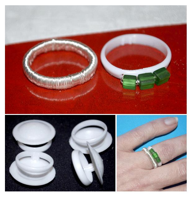 Reusing Plastic Pull Tabs • Plastic Pull Rings to Finger Rings   ecogreenlove
