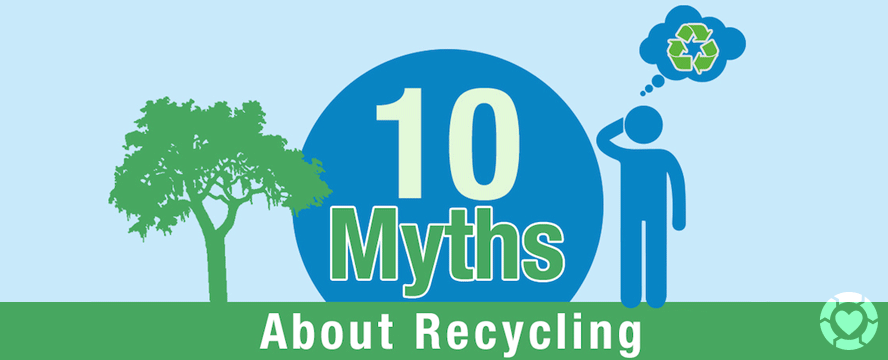 Myths about Recycling [Infographic] | ecogreenlove
