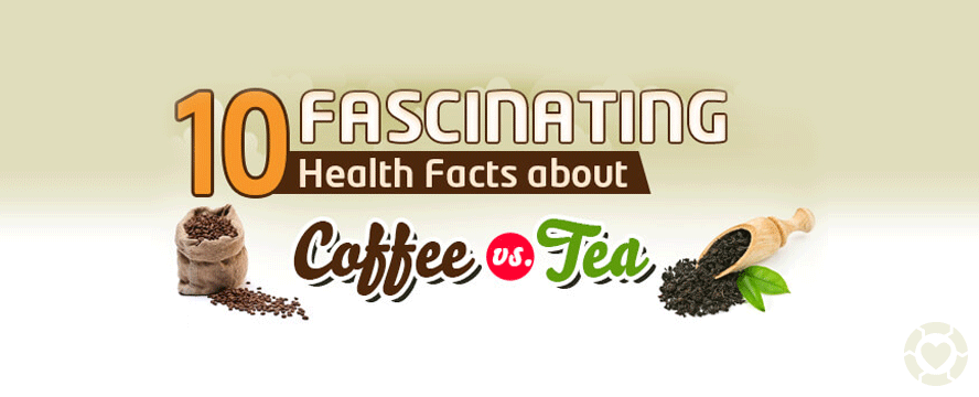Fascinating Facts about Coffee vs. Tea [Infographic] | ecogreenlove