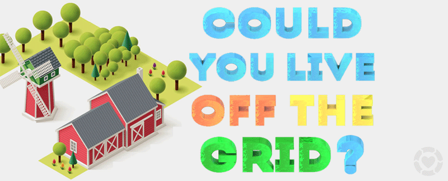 Could you live Off the Grid? [Infographic] | ecogreenlove