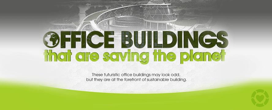 Green Office buildings [Infographic] | ecogreenlove