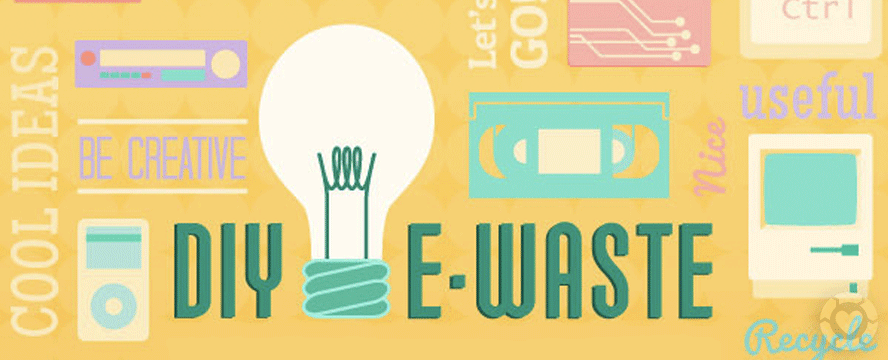 DIY E-waste Project Ideas [Infographic] | ecogreenlove
