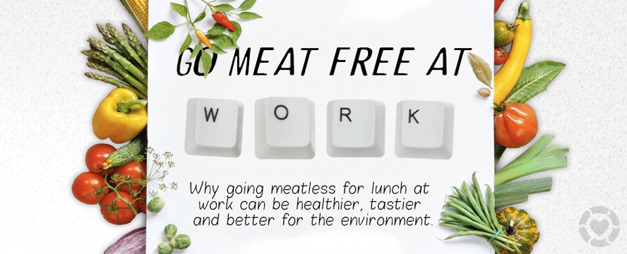 Go Meat free at Work [Infographic] | ecogreenlove