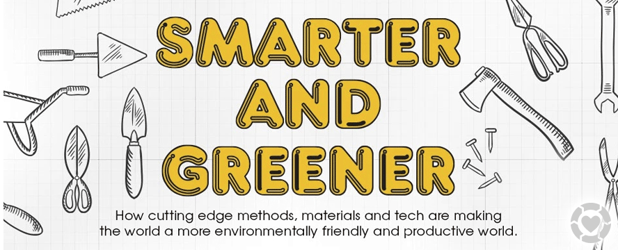 Smarter and Greener: The Future of Building [Infographic] | ecogreenlove
