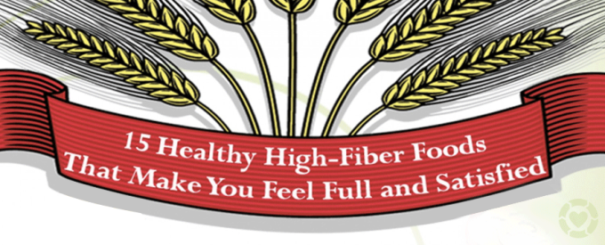 Healthy High-Fiber Foods [Infographic]   ecogreenlove