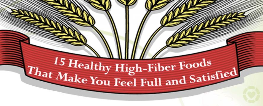 Healthy High-Fiber Foods [Infographic] | ecogreenlove