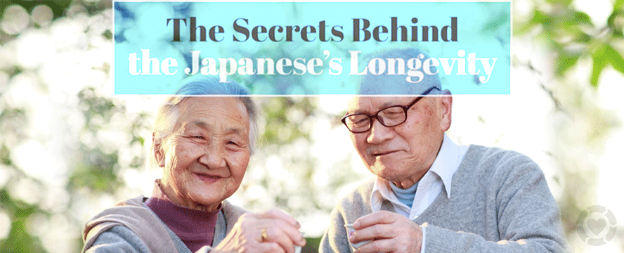 The Secrets Behind the Japanese's Longevity [Infographic] | ecogreenlove