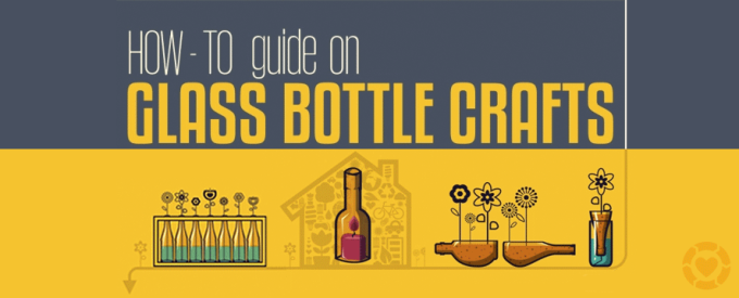 UPcycling Wine Bottles [Infographic] | ecogreenlove
