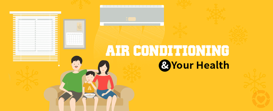 Air Conditioning and Health [Infographic] | ecogreenlove