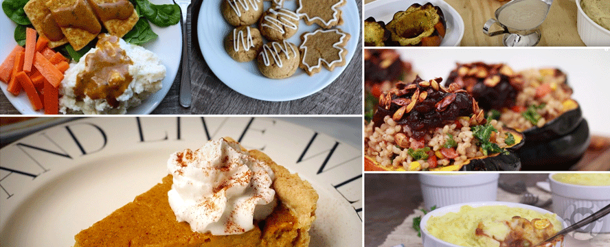 Vegan Thanksgiving Recipes [Videos] | ecogreenlove