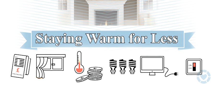 Stay Warm for Less [Infographic] | ecogreenlove