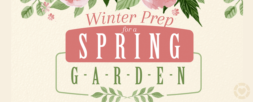 Winter Prep for a Spring Garden [Infographic] | ecogreenlove