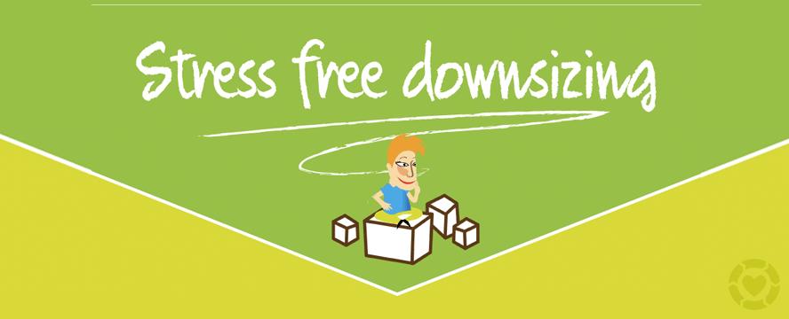 Stress-Free Downsizing [Infographic] | ecogreenlove