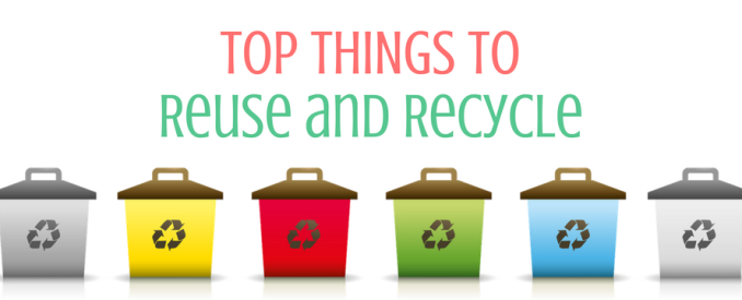 Top Things to Reuse and Recycle [Infographic] | ecogreenlove
