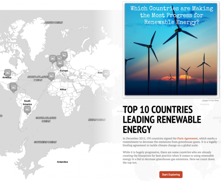 Top 10 Countries Leading Renewable Energy [Interactive StoryMap] | ecogreenlove