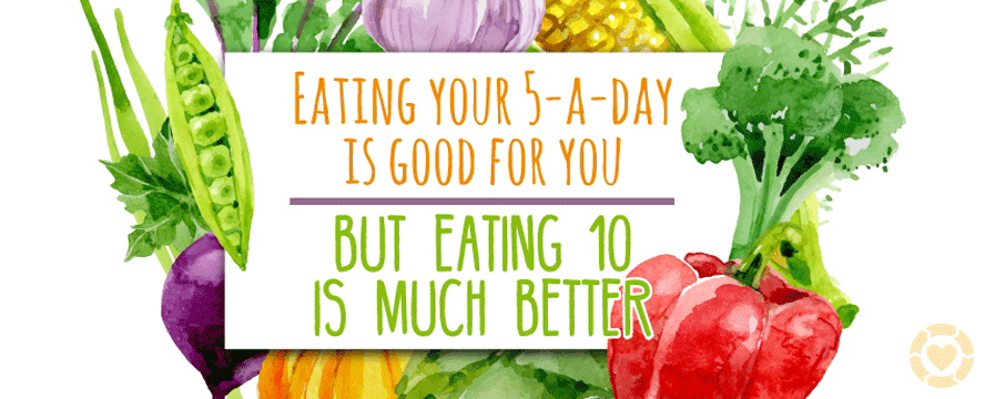 Why Eating 10-a-Day is Better [Infographic] | ecogreenlove