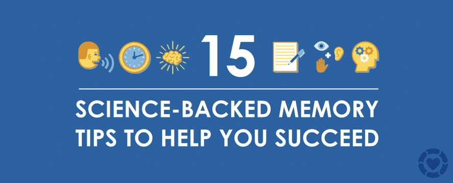 15 science-backed Memory Tips [Infographic]   ecogreenlove