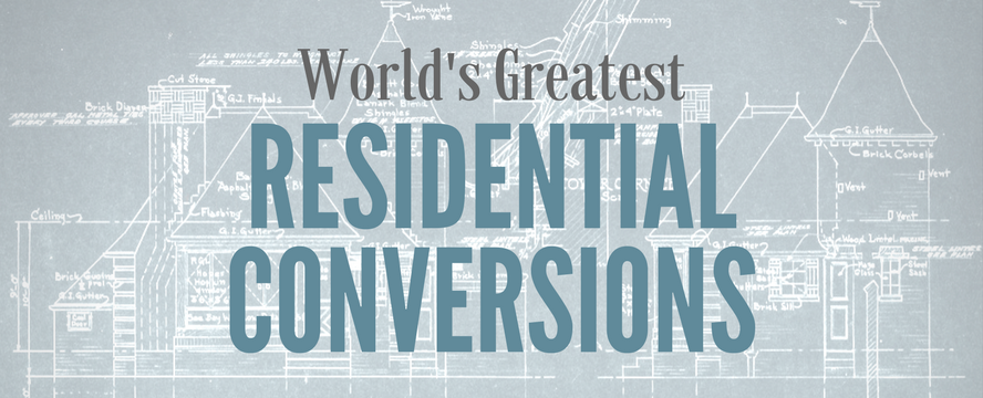Greatest Residential Conversions [Infographic] | ecogreenlove