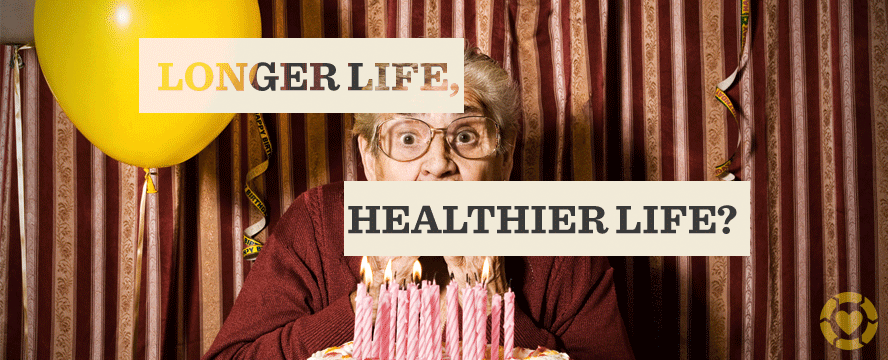 Longer Life, Healthier Life? [Infographic] – ecogreenlove